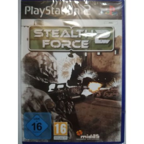 Stealth Force 2 PS2 nová