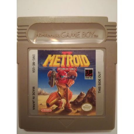 Metroid II Return of Samus Gameboy