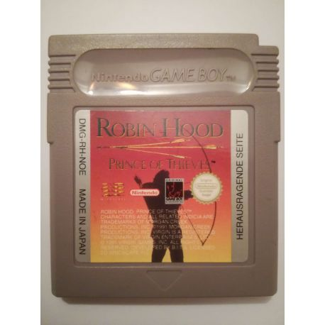 Robin Hood: Prince of Thieves Gameboy