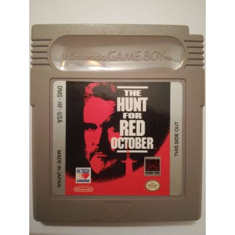 The Hunt for Red October Gameboy
