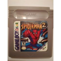 Spider-Man 2 The Sinister Six Gameboy Color