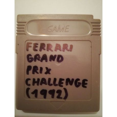 Ferrari Grand Prix Challenge Gameboy