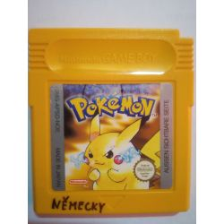 Pokémon Yellow Gameboy