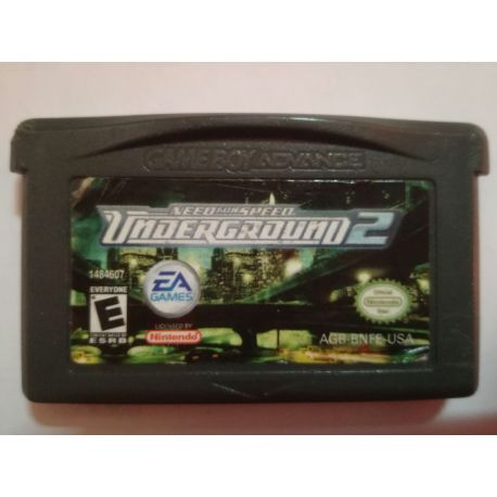 NFS Underground 2 Gameboy Advance