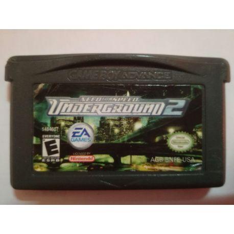NFS Underground 2 Gameboy Advance