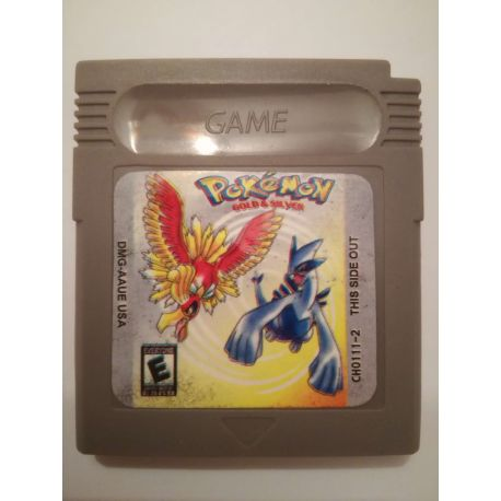 Pokémon Gold & Silver Gameboy