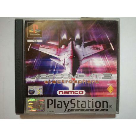 Ace Combat 3:Electrosphere PSX