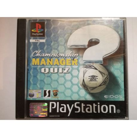 Championship Manager Quiz PSX