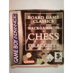 Backgammon & Chess & Draughts Gameboy Advance