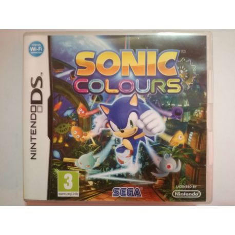 Sonic Colours Nintendo DS