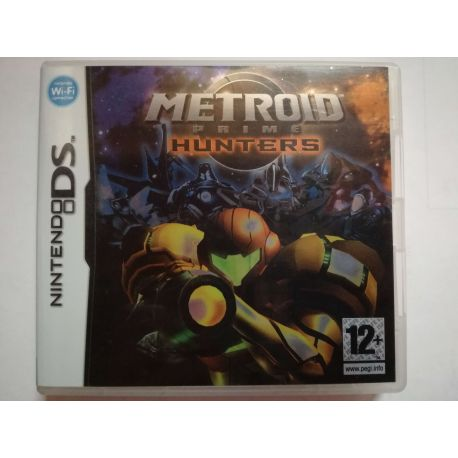 Metroid Prime Hunters Nintendo DS