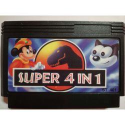 4in1 F1-Sensation, Felix the Cat, Jurassic Park, MIckey Mouse 3 Famicom