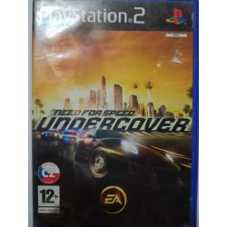 Need for Speed Undercover cz PS2