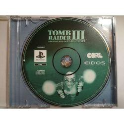 Tomb Raider III - pouze cd PSX