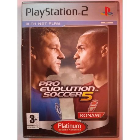 Pro Evolution Soccer 5 Platinum PS2