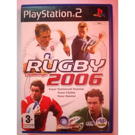 Rugby Challenge 2006 PS2