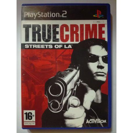 True Crime Streets of LA PS2