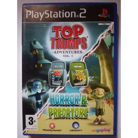 Top Trumps: Horror & Predators PS2