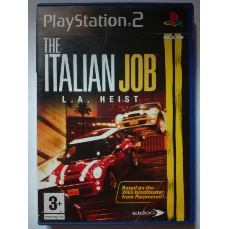 The Italian Job L.A. Heist PS2