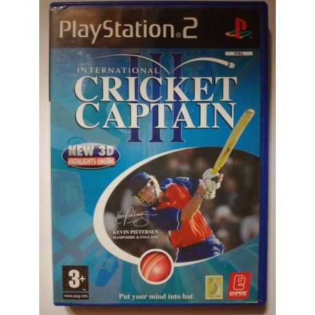 International Cricket Captain III PS2