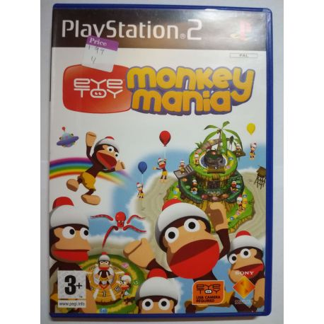 EyeToy: Monkey Mania PS2