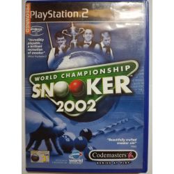 World Championship Snooker 2002 PS2