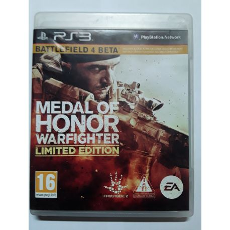 Medal of Honor Warfighter Limited PS3