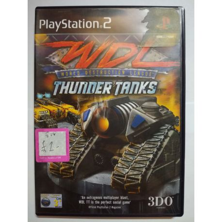 World Destruction League: Thunder Tanks PS2