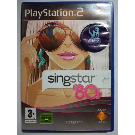 SingStar 80s PS2