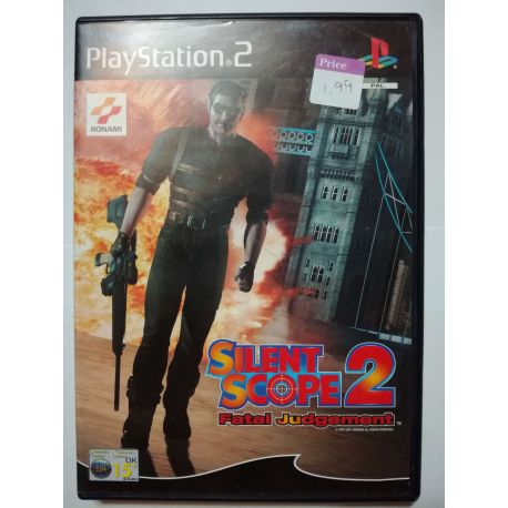 Silent Scope 2 Fatal Judgement PS2