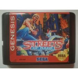 nel. Cartridge Streets of Rage Sega Mega Drive