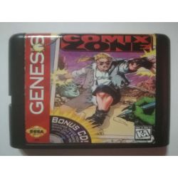 nel. Cartridge Comix Zone Sega Mega Drive
