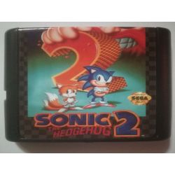 nel. Cartridge Sonic 2 The Hedgehog Sega Mega Drive
