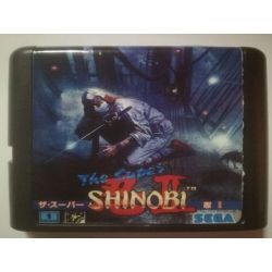 nel. Cartridge The Super Shinobi II Sega Mega Drive