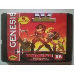 nel. Cartridge Gauntlet IV Sega Mega Drive