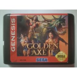 nel. Cartridge Golden Axe II Sega Mega Drive