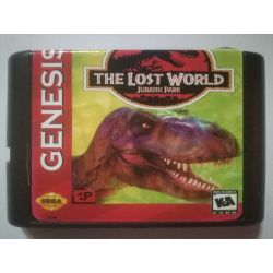 nel. Cartridge The Lost World Sega Mega Drive