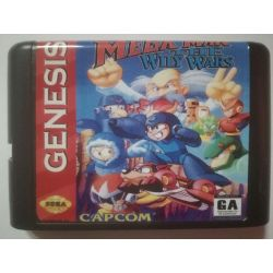nel. Cartridge Mega Man The Wily Wars Sega Mega Drive
