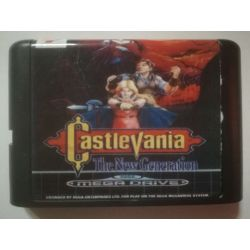 nel. Cartridge Castlevania The New Generation Sega Mega Drive