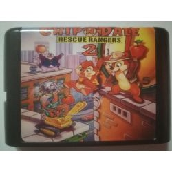 nel. Cartridge Chip & Dale 2 Sega Mega Drive