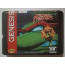 nel. Cartridge Turtles Tournament Fighters Sega Mega Drive