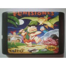 nel. Cartridge the Flintstones Sega Mega Drive