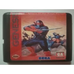 nel. Cartridge Shinobi III Return of the Ninja Master Sega Mega Drive