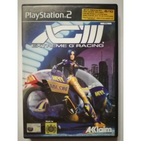 XG3: Extreme-G Racing PS2