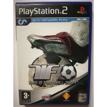 This is Football 2004 PS2