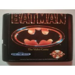 nel. Cartridge Batman Sega Mega Drive