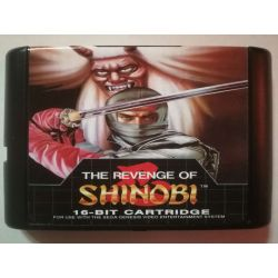nel. Cartridge The Revenge of Shinobi Sega Mega Drive