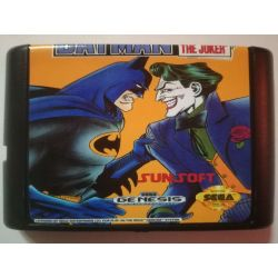 nel. Cartridge Batman Revenge of the Joker Sega Mega Drive
