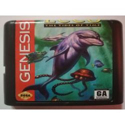 nel. Cartridge Ecco The Tides of Time Sega Mega Drive