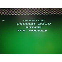 4in1 Wrestle, Soccer, Mach Rider, Ice hockey Famicom